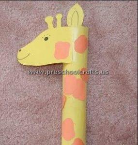 easy-giraffe-crafts-ideas-for-preschool