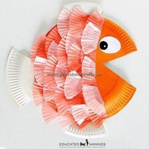 fish-crafts-ideas-orange