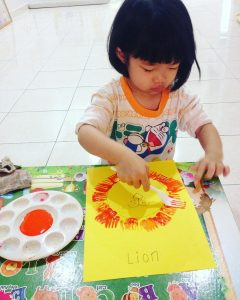 free-crafts-ideas-to-lion