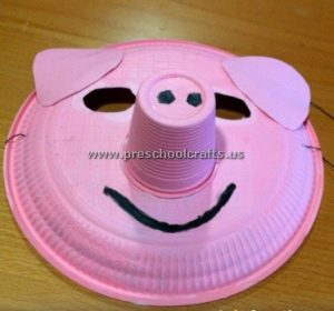 pig crafts ideas for pre-school