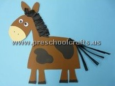 horse-craft-idea-for-primary-school