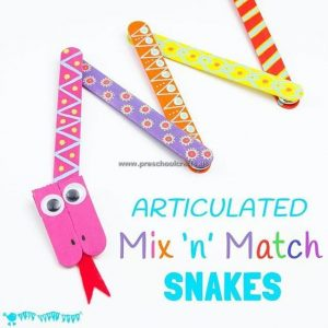 kindergarten-snake-craft-ideas