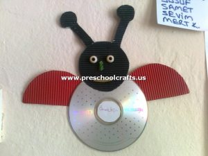 ladybug-craft-idea-from-cd