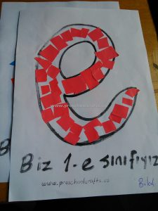 letter-e-crafts-ideas-for-firstgrade-students