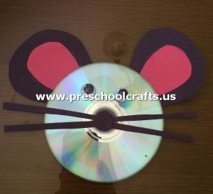 mouse-craft-idea-from-cd-for-kids