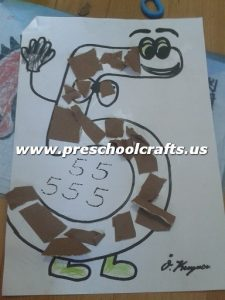 number-5-craft-ideas-for-kindergarten