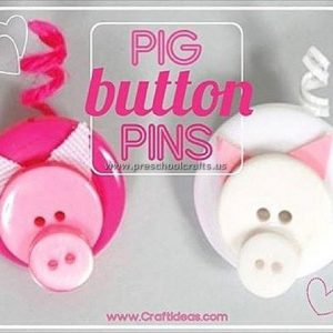 pig crafts idea for preschool