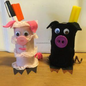pig crafts ideas for kindergarten