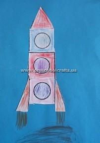 preschool-rocket-theme-crafts-ideas