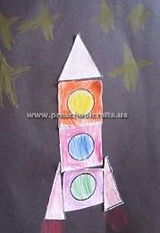 preschoolers-rocket-theme-craft-idea