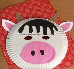pig craft idea for first grade
