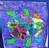 turtle-crafts-idea-for-firstgrade