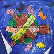 turtle-crafts-ideas-for-kindergarten