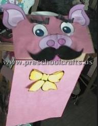preschool pig craft idea