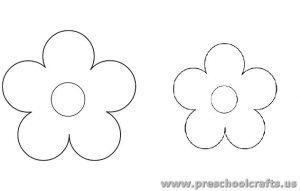 free-flower-template