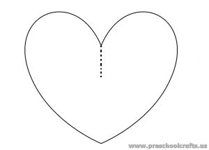 free-heart-template-3d