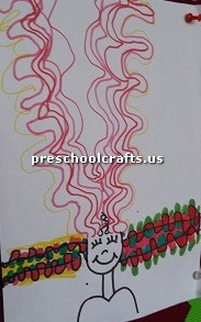 hair-crafts-idea-for-firstgrade