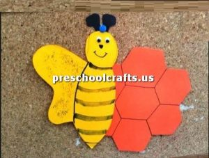 kindergarten-bee-crafts-idea