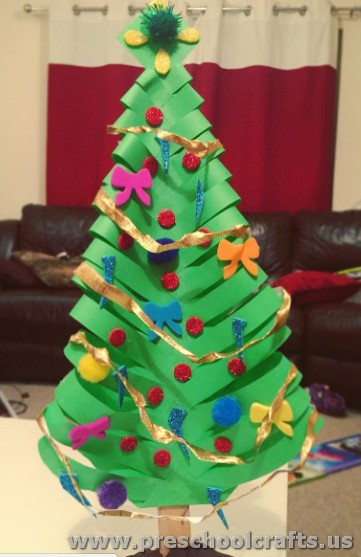Noel Tree Craft Ideas For Kids on christmas tree math worksheets