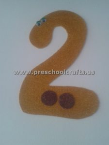 number craft ideas for preschoolers numbers crafts for preschool preschool and kindergarten 6971