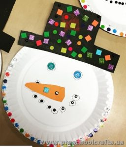 paper-plate-snowman-craft-ideas-for-kids