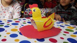 Chicken handicraft ideas for preschool
