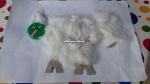Chicken handicrafts for preschooler