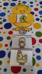 chicken craft idea kindergarten and kids