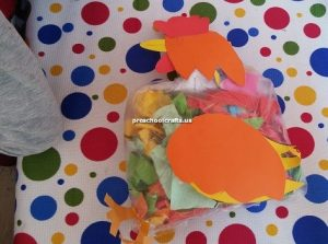 chicken craft ideas preschool