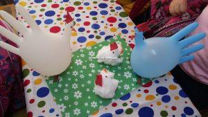 chicken crafts idea for kindergarten