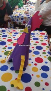chicken crafts idea for preschool teacher