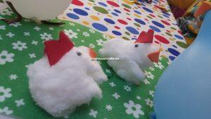 chicken crafts idea for preschoolers
