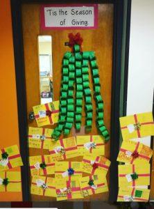 christmas-door-decor-for-first-grade