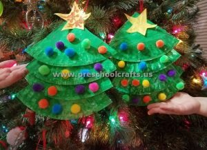 christmas tree craft ideas at home