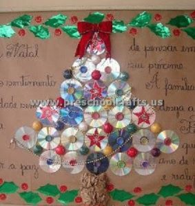 christmas tree from cd