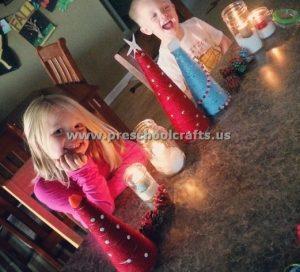 christmas tree ideas for kindergarten