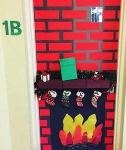 first-grade-christmas-door