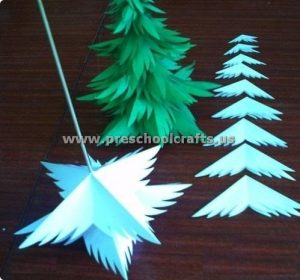 paper christmas tree activities for kids