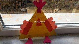 preschool chicken crafts idea (2)