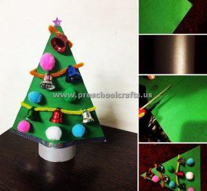 preschool christmas tree crafts