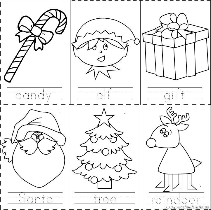 preschool christmas worksheet - Christmas Worksheets For Kindergarten