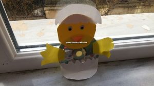 preschooler chicken craft idea