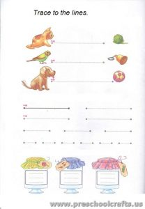 trace line worksheets