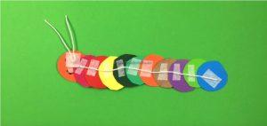 How to make a Caterpillar Kids - caterpillar craft ideas