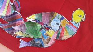 bird craft idea for kindergarten