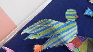 bird craft idea for preschool