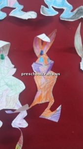 bunny craft for preschooler
