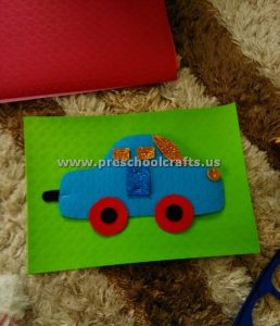 cars craft activities for kids