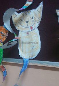 cat craft idea for preschool