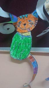 cat craft idea for preschooler